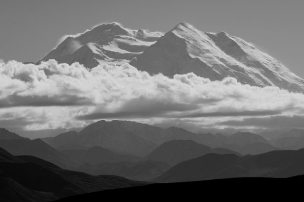 North face of Denali, Alaska. ©Copyright Dana Warnquist