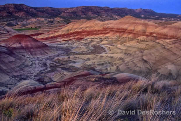 Painted Hills Unit, John Day Fossil Beds National Monument, Oregon. © David DesRochers