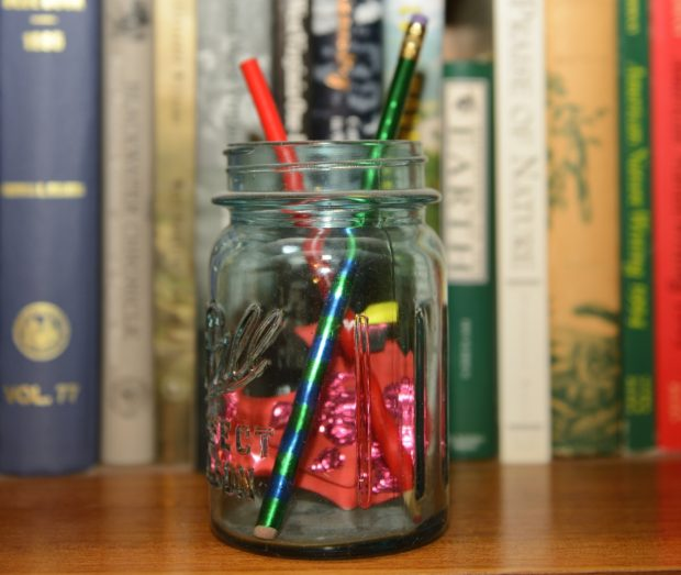 Pencils in Mason Jar (c) Jim Clark_01