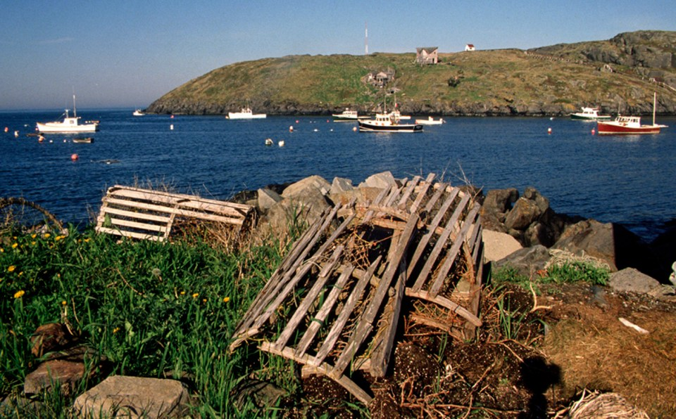 Monhegan Island is the real thing – an active lobstering village! © Budd Titlow
