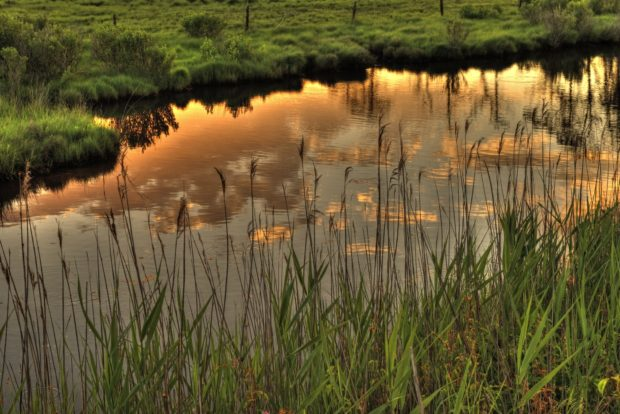 sunset-reflections-shdr-06072016-black-duck-marsh-chincoteague-nwr-va-c-jim-clark