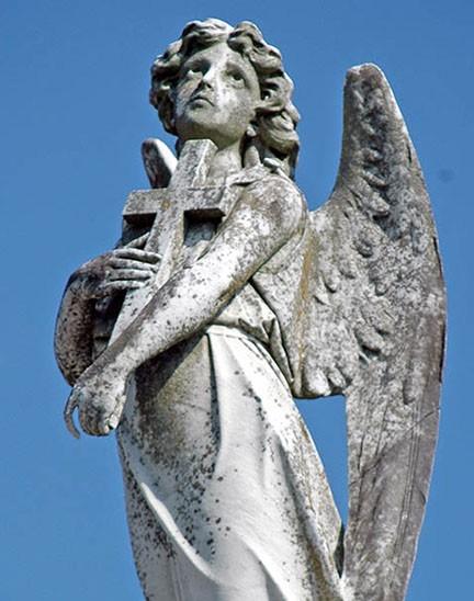 crossed angel