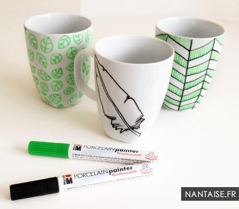Mugs peints