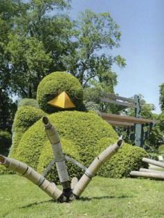 Le poussin de Claude Ponti au Jardin des Plantes à Nantes
