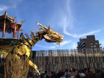 Long Ma le cheval dragon en août 2015 à Nantes - Nantaise (22)