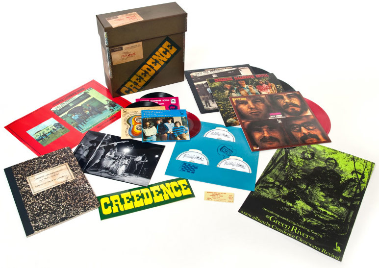 Coffret Creedence Clearwater Revival du disquaire day 2016
