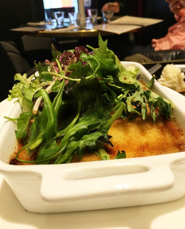 Test du parmentier de boudin à l'aligot de Chez Franklin, restaurant bistrot à Nantes