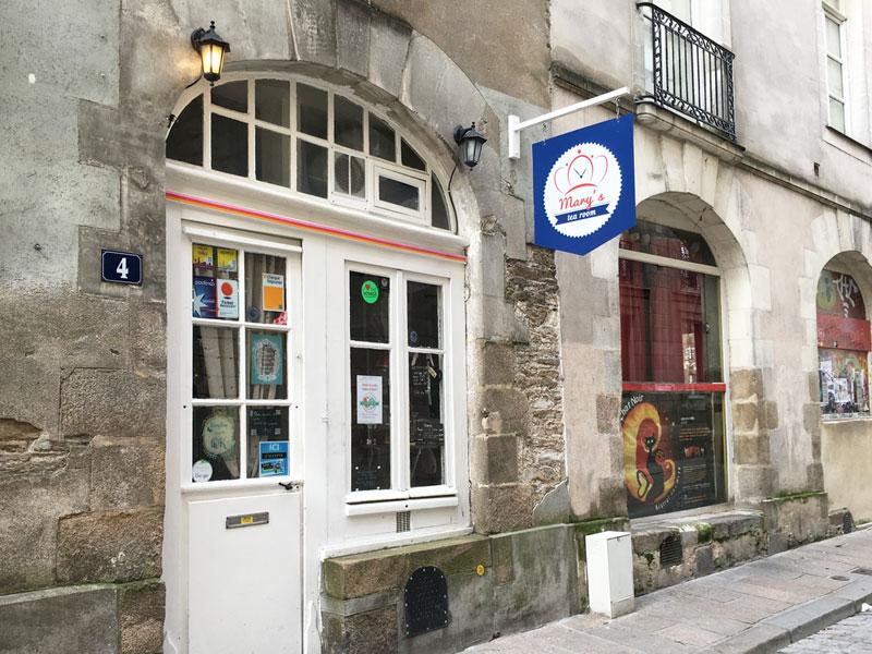 Mary's tea room salon de thé à Nantes