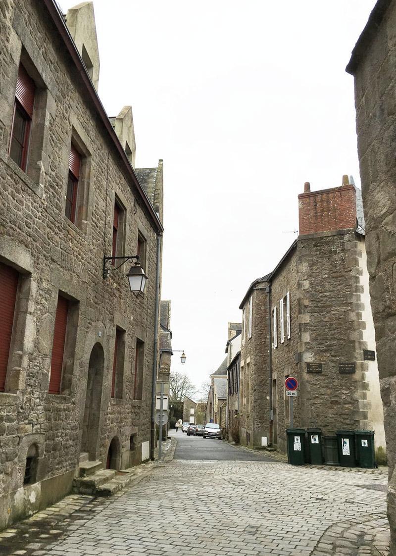 La vieille ville fortifiée de Guérande en Loire-Atlantique