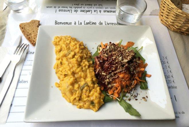 La cantine de livresse à Nantes : plats vegan de qualité