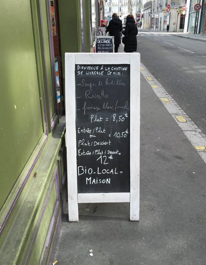 restau bio et végétarien vegan à Nantes