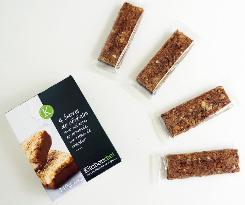 Avis sur les barres de céréales minceur Kitchen Diet