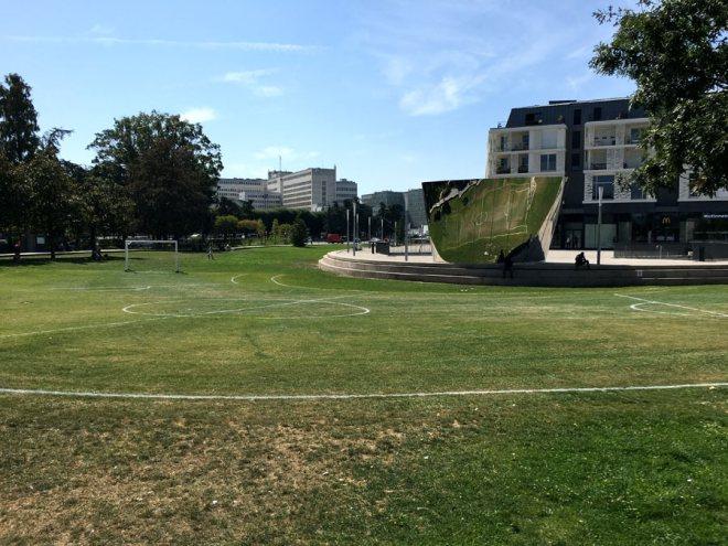 Feydball, oeuvre du Voyage à Nantes 2016