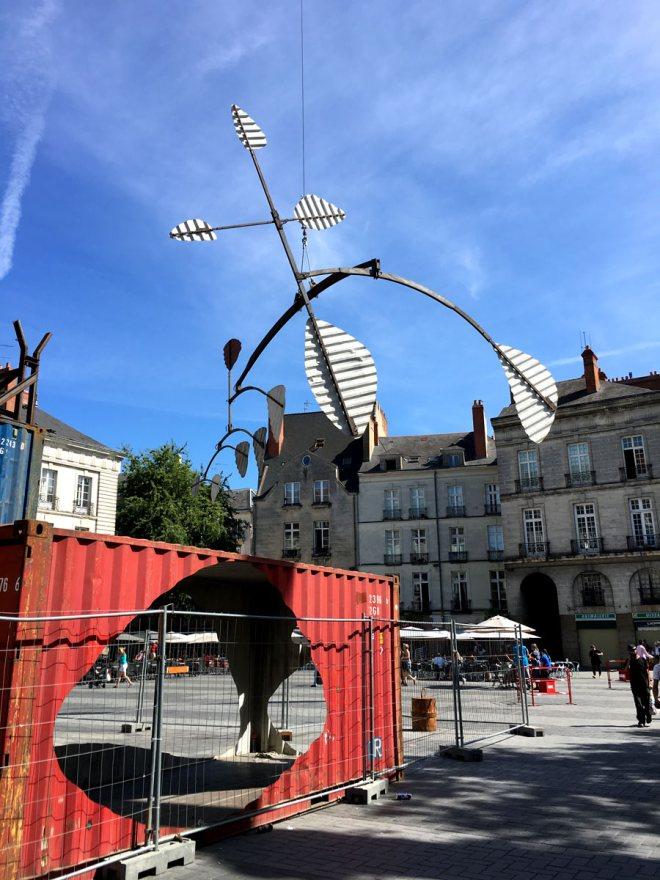 mobile, oeuvre du Voyage à Nantes 2016