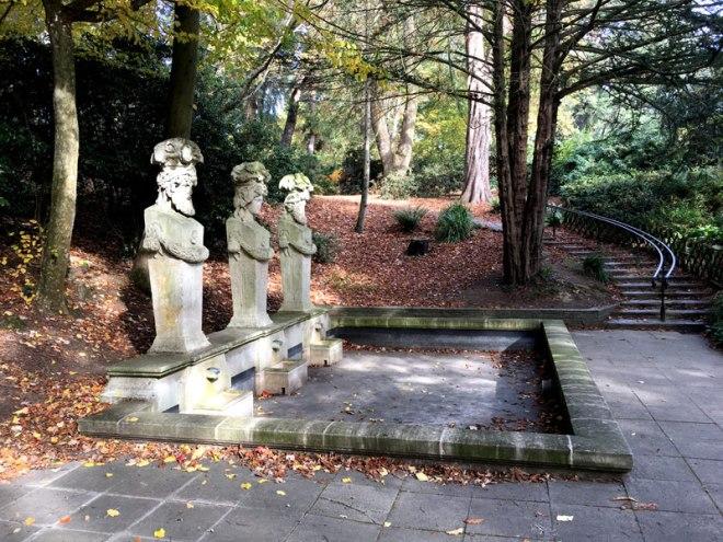 Statues du Parc de Procé à Nantes