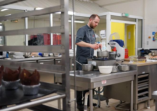 Mathieu Lemaître, boulanger à L'Amour est dans le blé à Blain