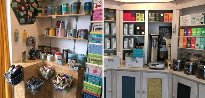La boutique du comptoir du Gou'thé à Carquefou près de Nantes