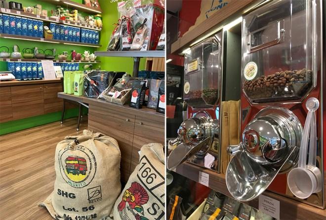 Comptoir Nanthé du café à Nantes : boutique et salon de thé