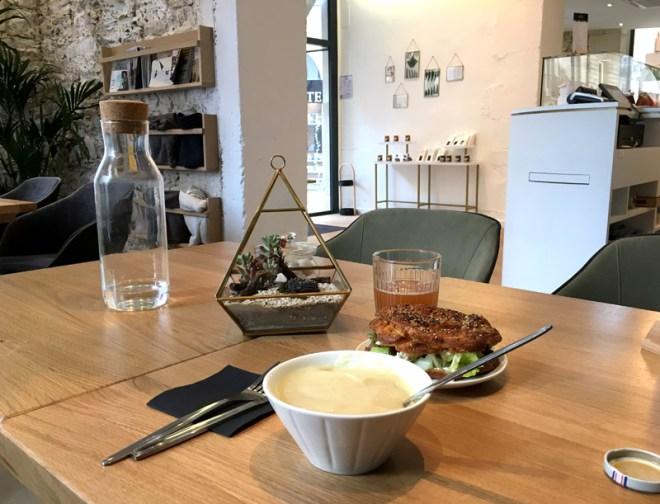 Formule déjeuner chez Maison Grimaud, spécialiste du chou à Nantes