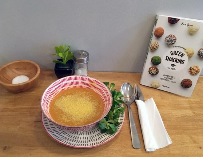 Soupe veggie à Nantes chez Juice, restaurant végétarien