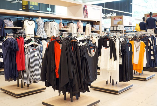 La mode Leclerc à Orvault grand val près de Nantes