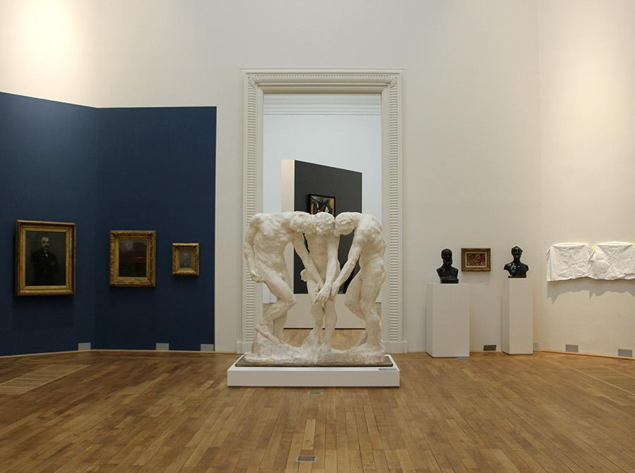 Sculpture de Rodin au Musée d'arts de Nantes