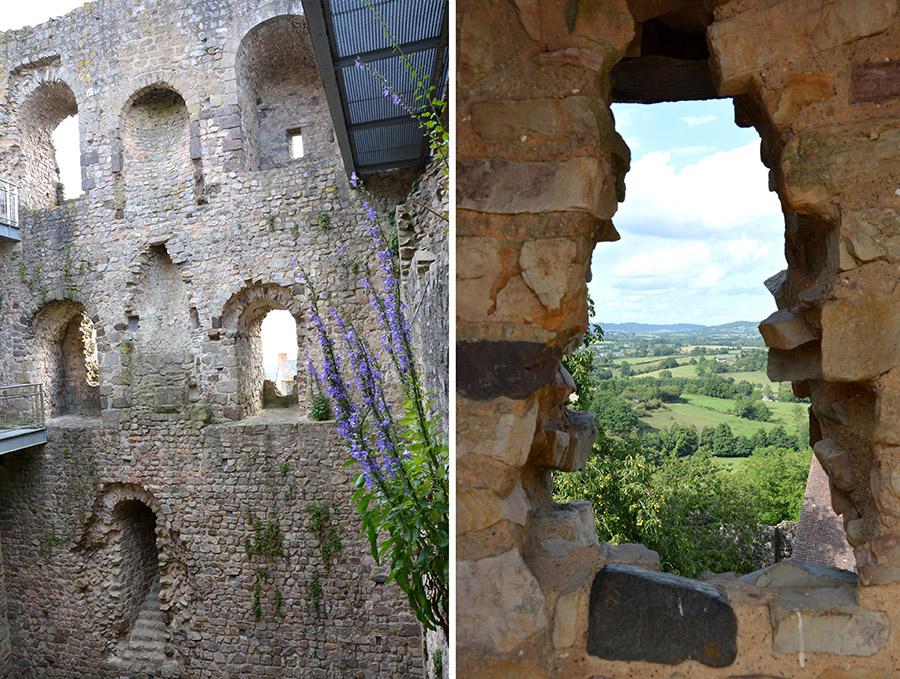 Sainte Suzanne : une balade en Mayenne
