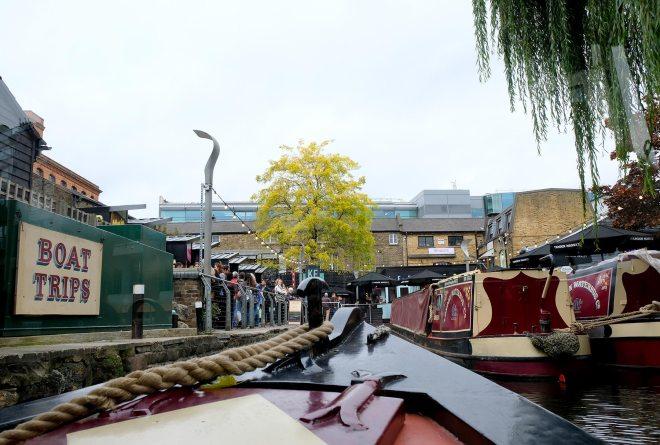 Balade en péniche à Londres sur Regent's canal