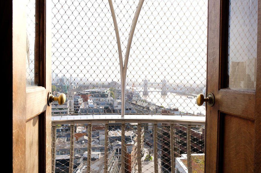 Monter en haut de The Monument à Londres
