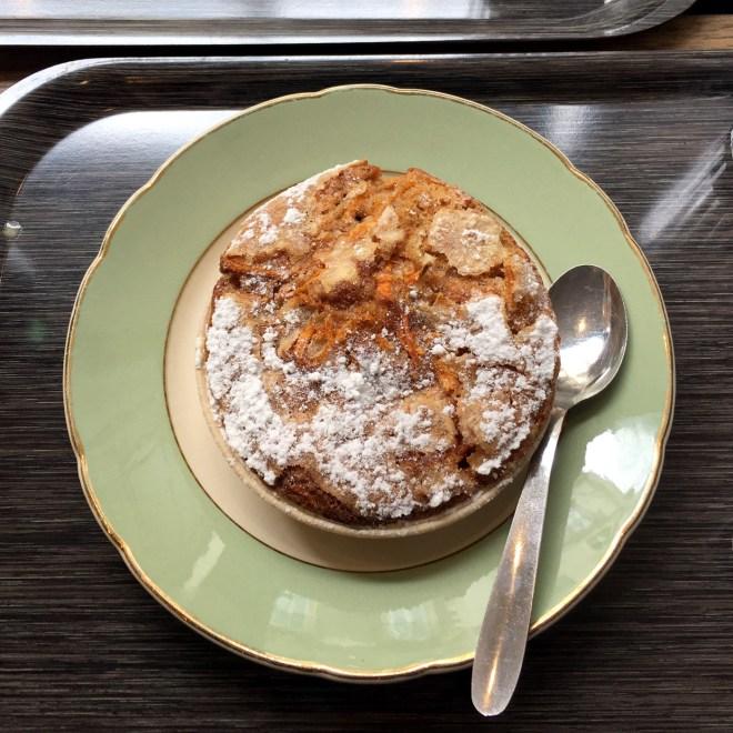 Carrot cake chez Josephine café à Nantes