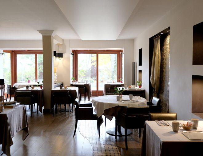 Restaurant gastronomique du Quintessia resort à Orvault, près de Nantes