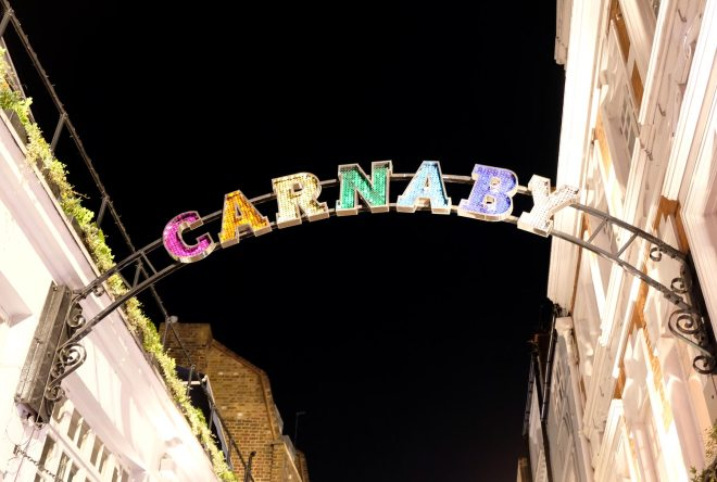 Carnaby Street à Londres : bon spot shoppingac