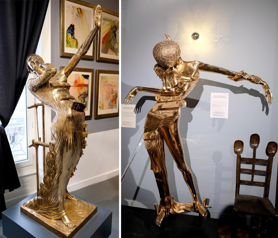 Exposition Dali à Nantes à la Rosière d'Artois