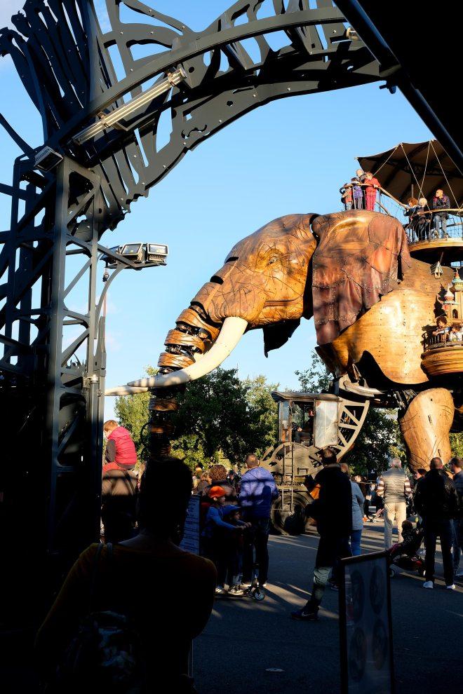 L'éléphant des machines de l'île à Nantes
