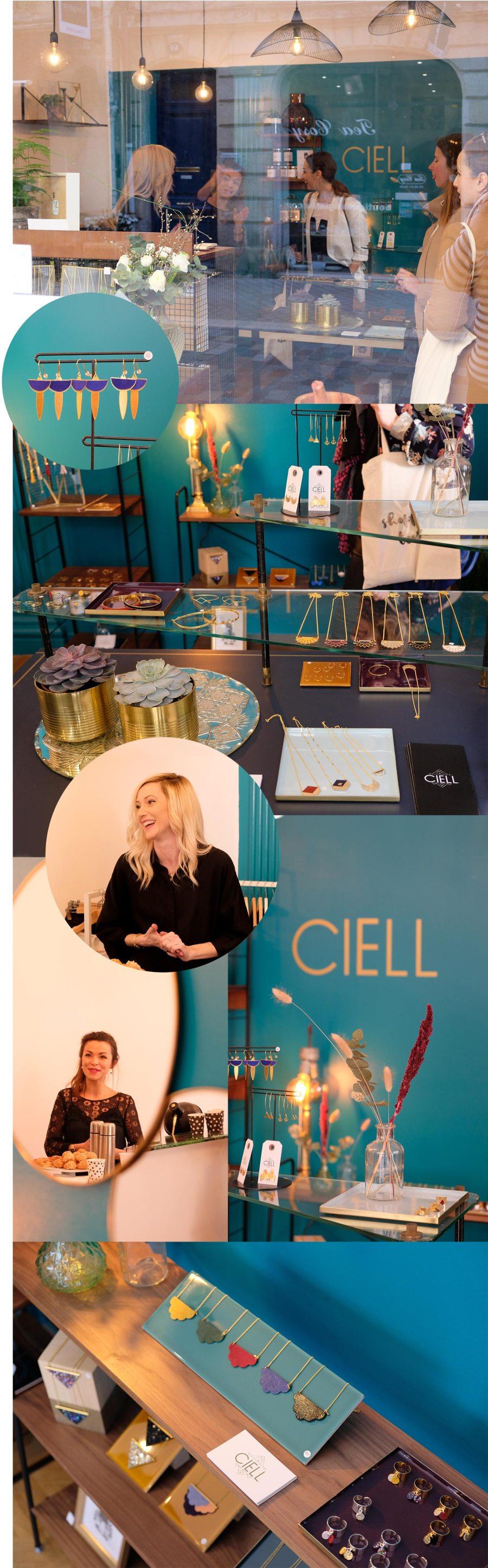 Ciell, boutique de bijoux de créateur à Bordeaux