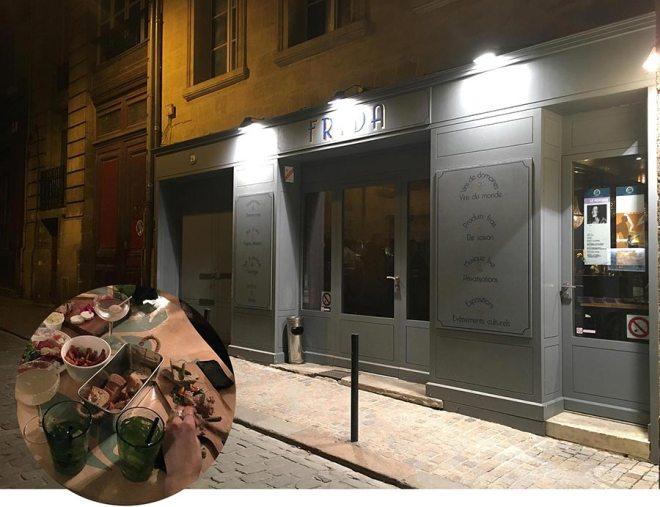 Frida, bar à tapas à Bordeaux