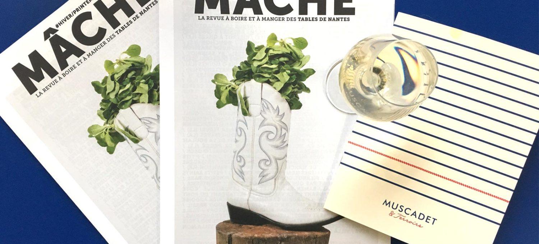 Mâche, le magazine du guide des Tables de Nantes