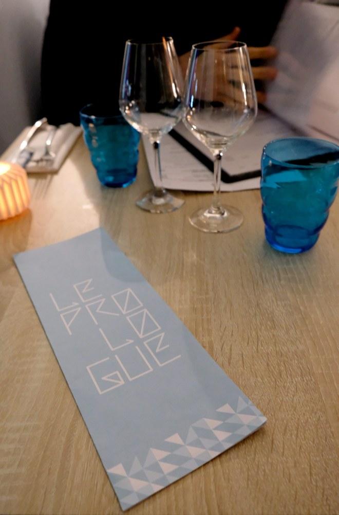 Le Prologue, restaurant gastronomique à Nantes