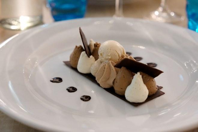 Dessert du restaurant Le Prologue, restaurant gastronomique à Nantes