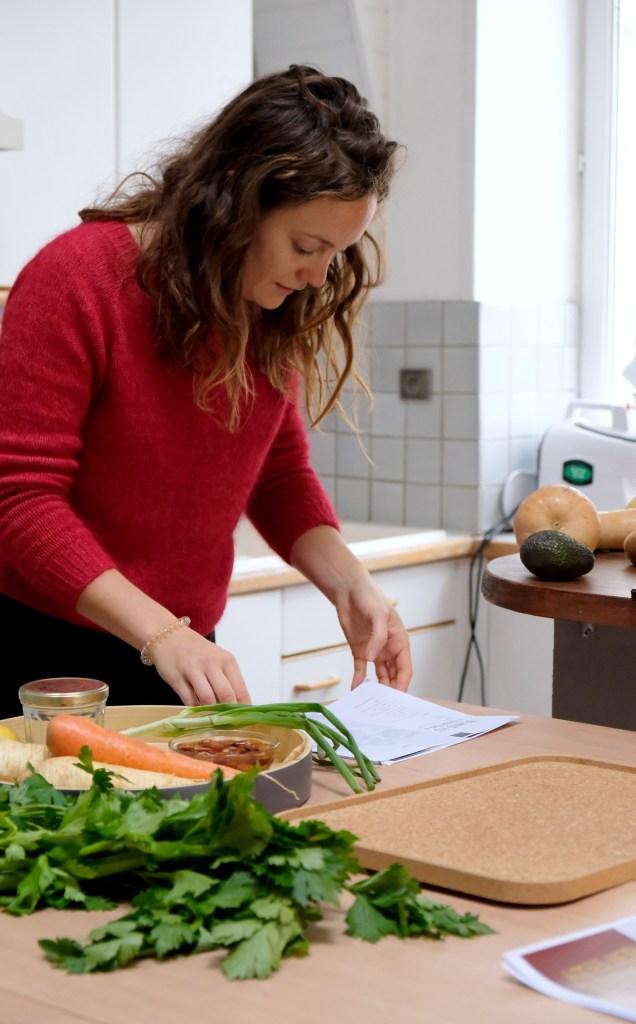 """Atelier de cuisine crue ou """"raw"""" à Nantes avec Les Crawquantes"""