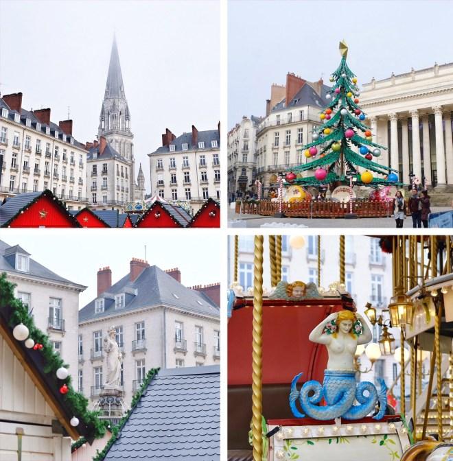 Décorations de Noël 2018 à Nantes
