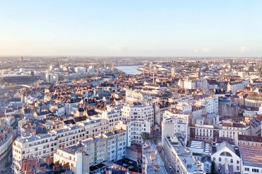Nantes vue de la Tour Bretagne