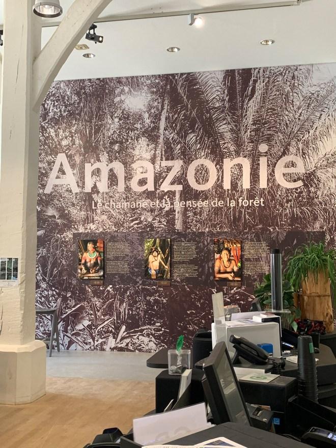exposition Amazonie au musée d'histoire de Nantes, dans le Château des Ducs de Bretagne