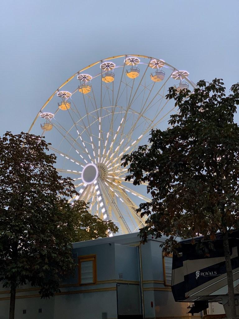 Fête foraine à Nantes