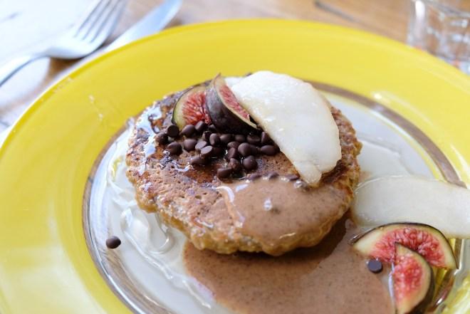 Pancake vegan et naturo chez Ora à Nantes