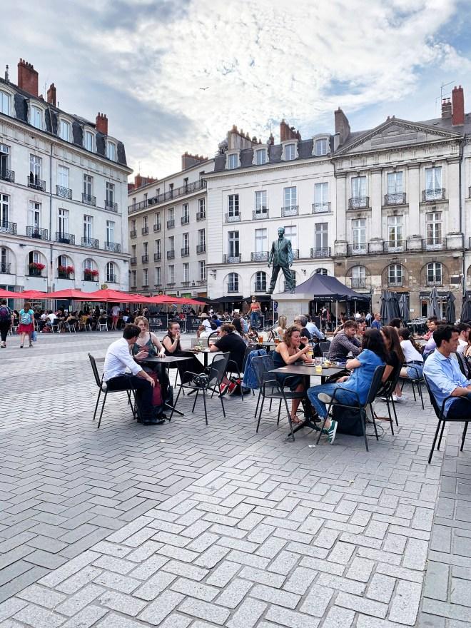 Place du Bouffay à Nantes