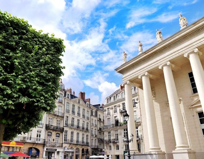 Beaux immeubles nantais du centre-ville