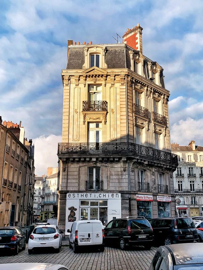 Immeuble du centre-ville de Nantes