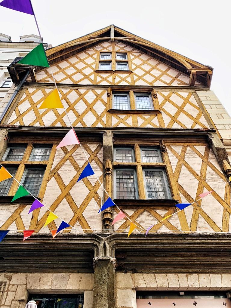 Maison à pans de bois à Nantes