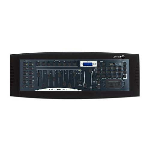 Contrôleur DMX 192 canaux avec joystick et Usb Contest - Sono 85 - Sono Nantes - Vente et Location de matériel de sono de lumière et de vidéo